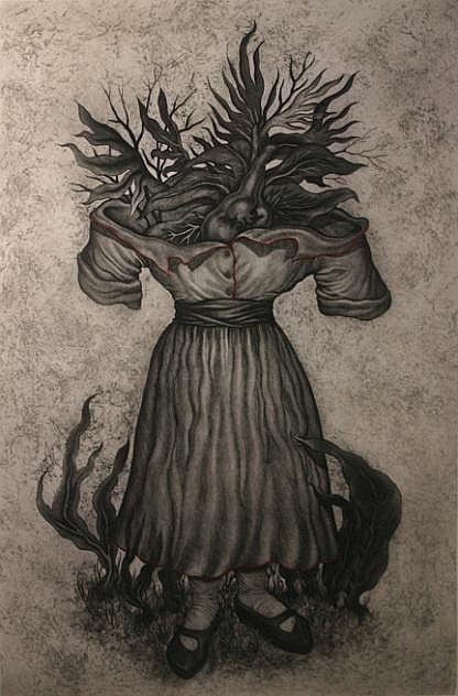 LUCÍA MAYA (1953- ) Madre Corazón  &  Madre Fagia Etchings