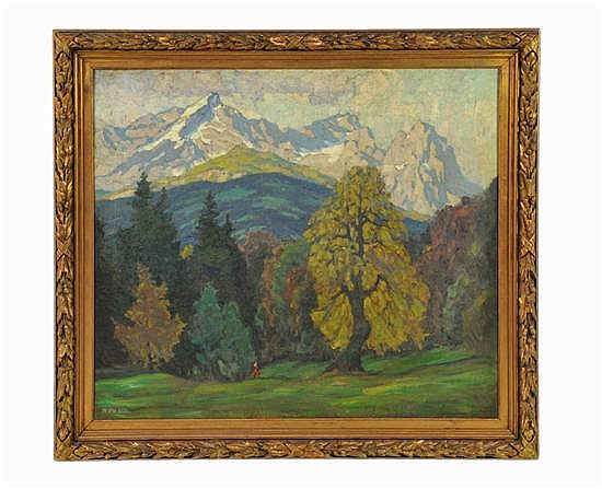 RICHARD ALBITZ, (German, 1876-1954.),