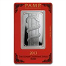 1 oz Pamp Suisse Silver Bar - Year of the Snake (In Ass