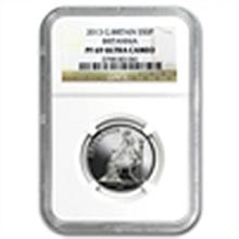 2013 1/4 oz Silver Britannia PF-69 UCAM NGC