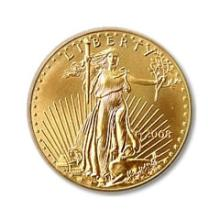 US American Gold Eagle Uncirculated Half Ounce (Random