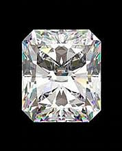 EGL CERT 0.83 CTW Radiant DIAMOND H/SI1