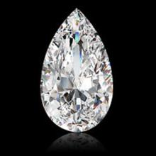 EGL CERT 1.13 CTW PEAR CUT DIAMOND D/SI2