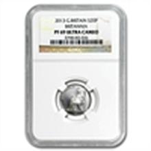 2013 1/10 oz Silver Britannia PF-69 UCAM NGC