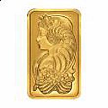 Gold Bars: 100 gram gold PAMP Fortuna Bar