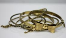BRASS BANGLES SET OF 8