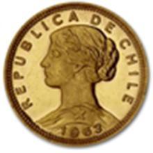 Chile 100 Pesos Gold Coins Random Dates (BU)