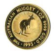 Australian Gold Nugget One Ounce (dates our choice)
