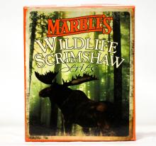 Marble's Wildlife Scrimshaw Series Two Blade Folding Knife