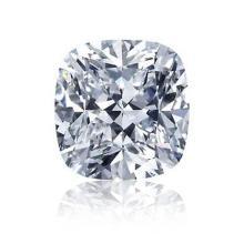 EGL CERT 0.56 CTW CUSHION CUT DIAMOND D/SI2