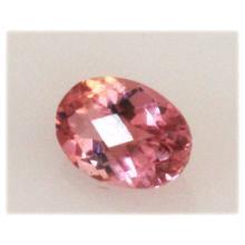 Natural 3.09ctw Pink Tourmaline Oval Cut (5) Stone