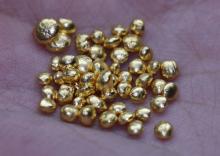 40 GRAMS PURE 24K GOLD SHOTS
