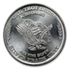 1 oz U.S. Assay Office Silver Round .999 Fine