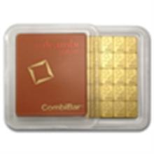 50x 1 gram Valcambi Gold CombiBar