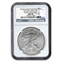 2013 (S) Silver American Eagle - MS-70 NGC - Early Rele