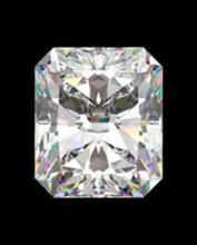 EGL CERT 0.7 CTW RADIANT CUT DIAMOND F/SI2