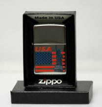 GENUINE ZIPPO LIGHTER AMERICAN PRIDE SERIES MADE IN USA