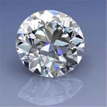 EGL CERT 1.67 CTW ROUND CUT DIAMOND D/SI1