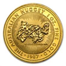 1 oz Australian Gold Kangaroo/Nugget (Random Year)