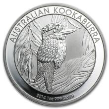 2014 1 oz Silver Australian Kookaburra ( 20 PIECES ROUN
