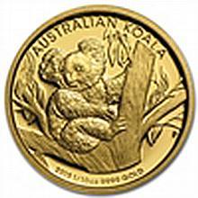1/10 oz Australian Gold Proof Koala 2013