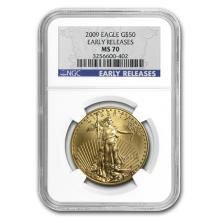 1 oz Gold American Eagle MS-70 NGC (Random Year)