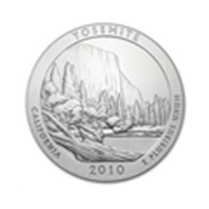 2010 5 oz Silver ATB - Yosemite National Park, Californ