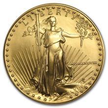1988 MCMLXXXVIII 1 oz Gold American Eagle -Brilliant Uncirculated