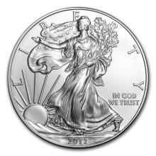 2012 1 oz Silver American Eagle (Brilliant Uncirculated