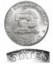 Eisenhower Dollar 1976 BU Type 1