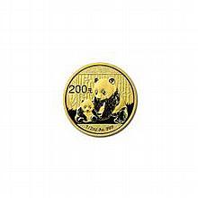 Chinese Gold Panda Half Ounce 2012