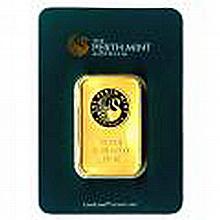 Gold Bars: Perth Mint Ten Ounce Gold Bar