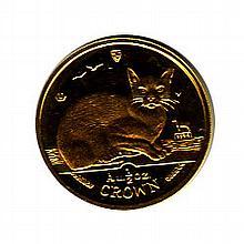 Isle of Man Gold Cat Half Ounce 1996