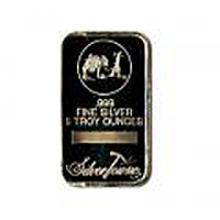 Silver Bars: Random Manufacturer 5 oz Bar .999 fine