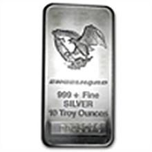 10 oz Engelhard Silver Bar (Tall, Eagle) .999 Fine