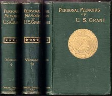 Personal Memoirs Of U.S. Grant  Grant, Ulysses S.
