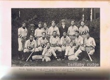 1900 FRANKLIN D. ROOSEVELT AS BASEBALL MANAGER- GROTONIAN
