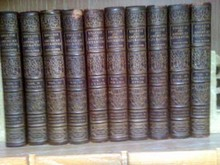 1908 English And American Literature 10 volumes