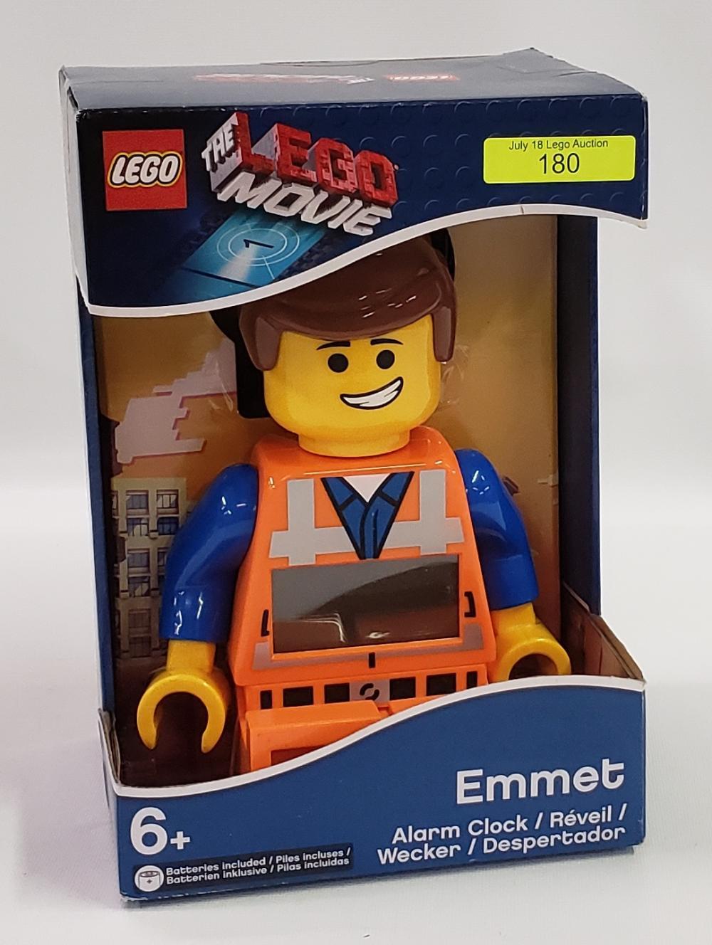 The Lego Movie Emmet Alarm Clock