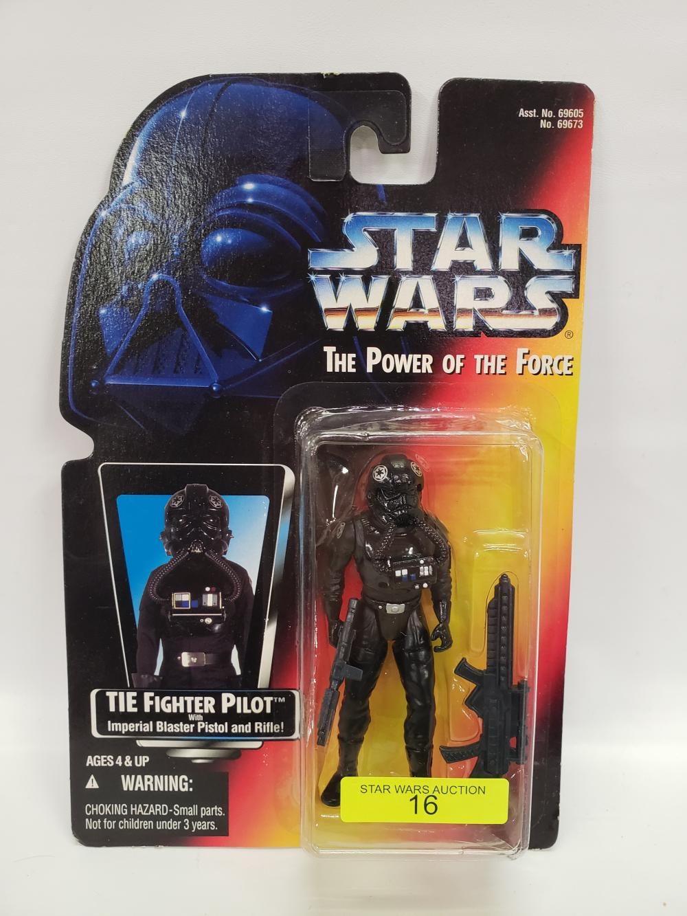Kenner Star Wars The Power Of The Force Tie Fighter Pilot Action Figure for sale online