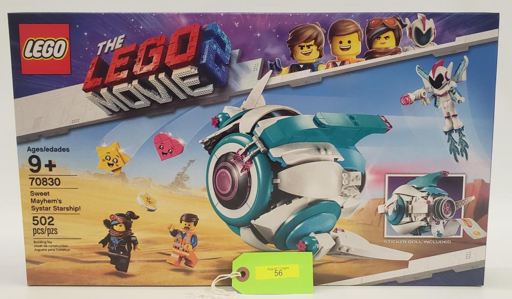 Lego 70830 Lego Movie 2 Sweet Mayhems Systar Starship Boxed