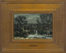 Giovanni Martino (1908-1998) - Winter in Manayunk