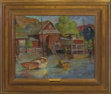 Katherine Hood McCormick (1882-1980) - A Sheltered Harbor