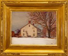 Robert Emmett Owen (1878-1957) - Old House at Long Ridge, NJ