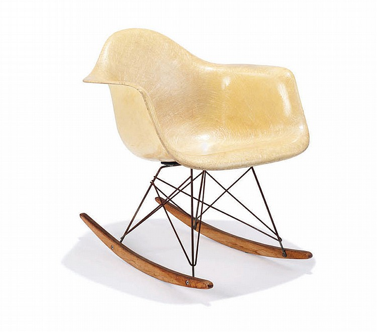 Charles & Ray Eames Early rocking chair