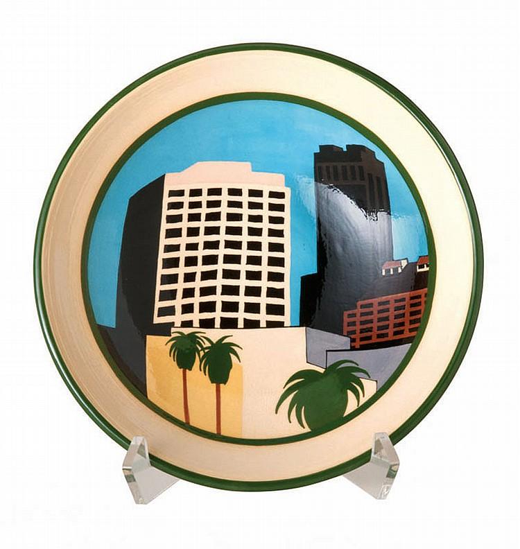 Ken Price Untitled (Cityscape Bowl)