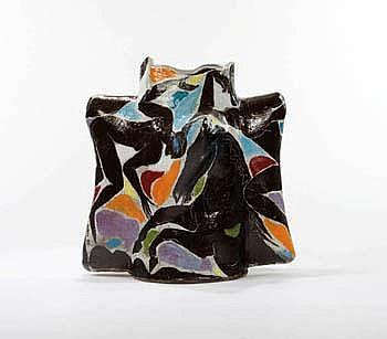 Rudy Autio Odysseum Studio 1993 Glazed ceramic