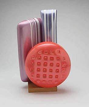 Franco Assetto Candy sculptures (3) 1985 One