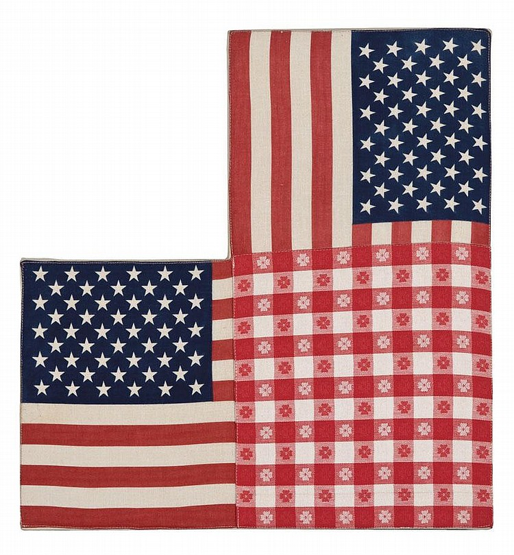 Untitled (Double Flags)