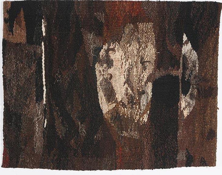 "Magdalena Abakanowicz ""Anonim"" tapestry"